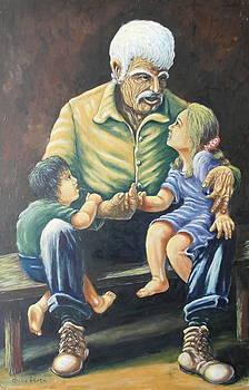 Papa Hold My Hand by Gabriel Porto
