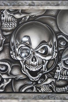 Paparazzi Skull  by Terry Stephens