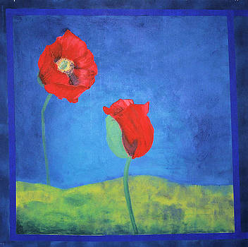 Papaver Conversation by Sirpa Mononen