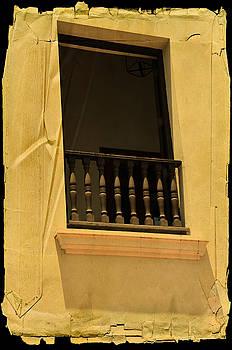 Paper balcony by Ricardo Dominguez
