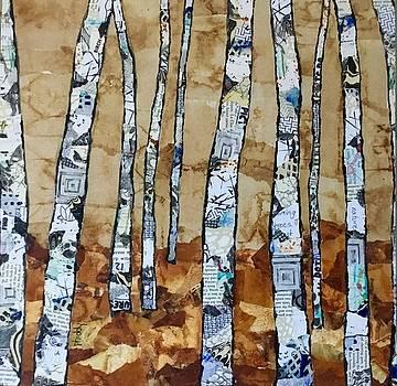 Paper Birch 3 by Phiddy Webb