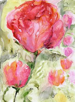 Paper Flowers by Nadine Dennis