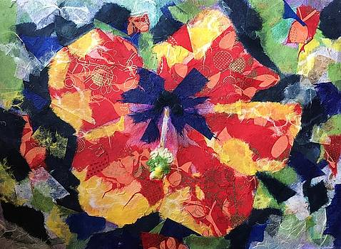 Paper Hibiscus by Marita McVeigh