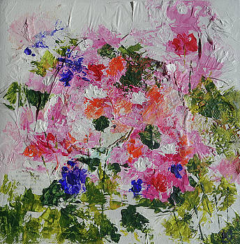 Papered Flowers by Lydia Irving