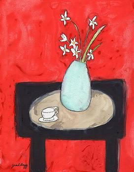 Paperwhites Still Life by Janel Bragg