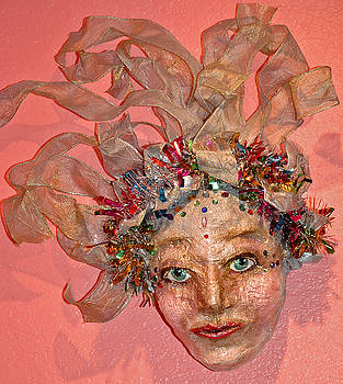 Papier Mache Mermaid by Mickie Boothroyd