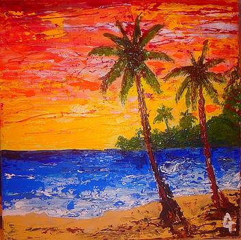 Paradise Beach by Maria Iurescia