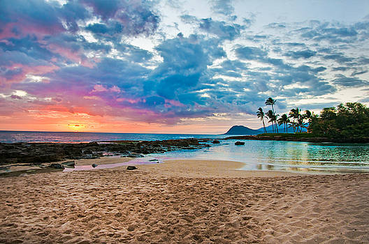 Paradise Cove Hawaii by Naomi Hayes