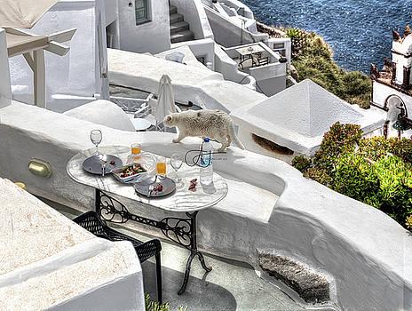 Paradise Found in Santorini by John Hoey