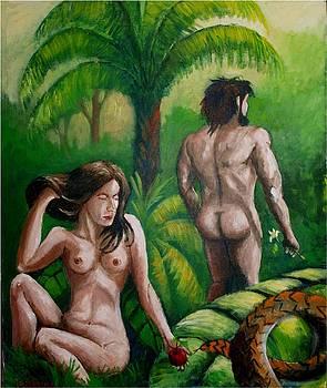 Paradise lost by Jean Pierre Bergoeing