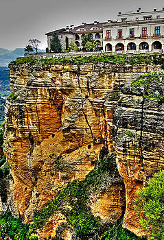 Parador Hotel Ronda - Andalusia by Juergen Weiss