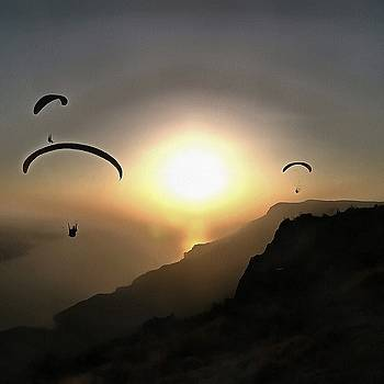 Tracey Harrington-Simpson - Paragliders Flying Without Wings