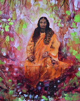 Paramhansa Yogananda  Wishing Tree by Ashleigh Dyan Bayer