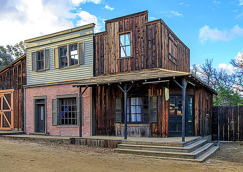 Paramount Ranch Bank by Gene Parks