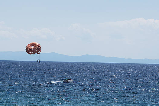 Newnow Photography By Vera Cepic - Parasailing boat in the sea