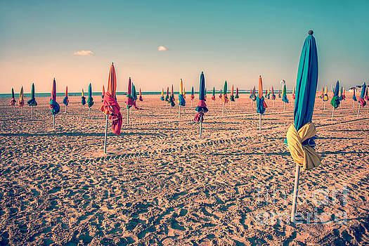 Delphimages Photo Creations - Parasols of Deauville