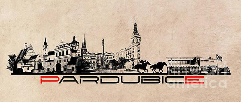 Justyna Jaszke JBJart - Pardubice skyline city