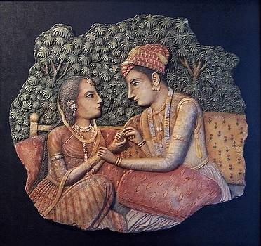 Pareja hindu by Jose Manuel Solares