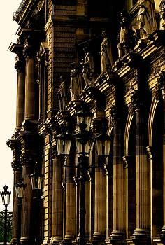 Paris, A View of the Louvre by John Tschirch