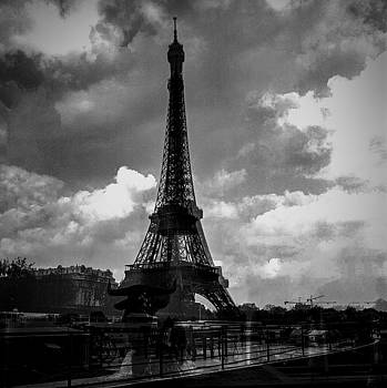 Cyril Jayant - Paris Alma  and  the Eiffel tower.