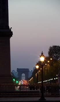 Paris at Dusk by John Tschirch