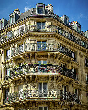Paris Balcony by Perry Webster