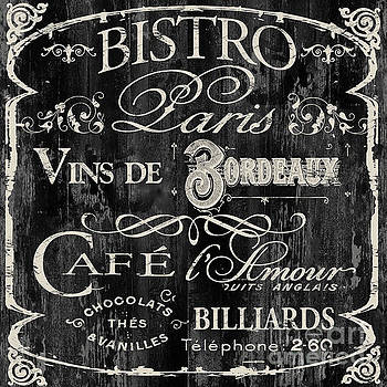 Paris Bistro  by Mindy Sommers