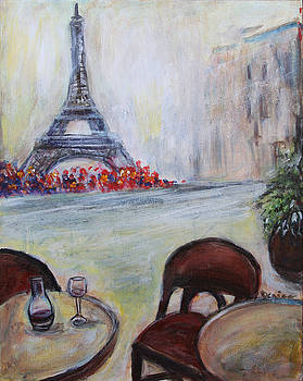 Paris Cafe by Denice Palanuk Wilson