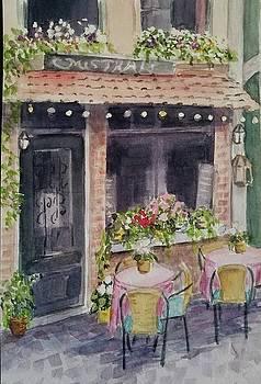 Paris Cafe by Lou Baggett