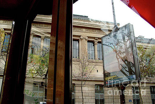 Felipe Adan Lerma - Paris Cafe Views Reflections