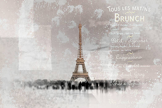 PARIS Collage by Melanie Viola