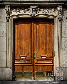 Paris doorway by Perry Webster