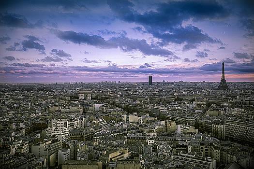 Paris Dusk  by Chris  Hood