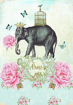 Paris Elephant by Wendy Paula Patterson