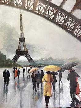 Paris Fog by Kathy Brusnighan