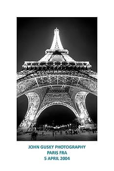 Paris Fra by John Gusky