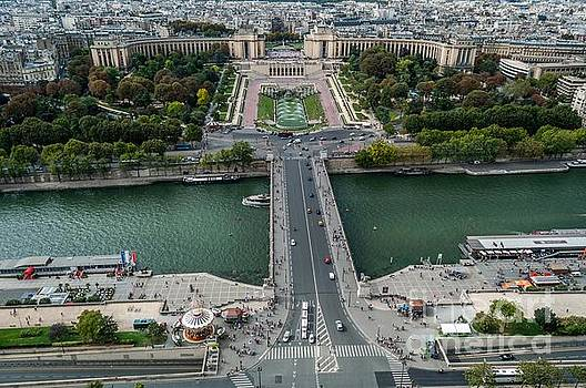 Paris France by Barbara Dudzinska