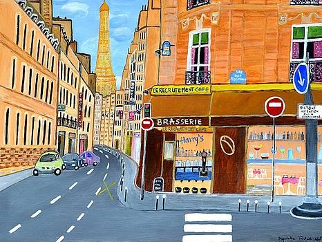 Paris France, Rue St. Dominique by Magdalena Frohnsdorff