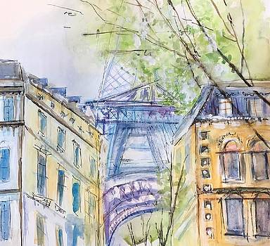 Paris in Springtime by Donna Eaton