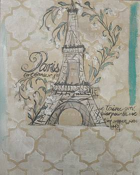 Paris Je t'aime by Holly Donohoe