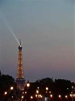 Parisian Lights by John Tschirch