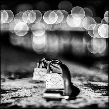 Paris Love Locks By Lazh Lo