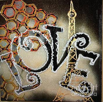 Paris Love by Sheila McPhee
