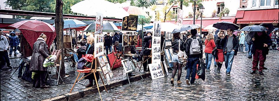 Cyril Jayant - Paris Montmartre . City of artists.