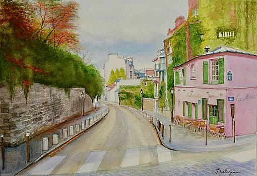 Paris Montmartre in Autumn by Dai Wynn