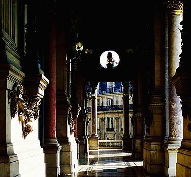 Paris Opera Balcony by John Tschirch