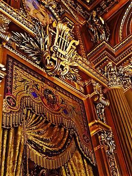 Paris Opera by Night Series, Gilded Corners by John Tschirch