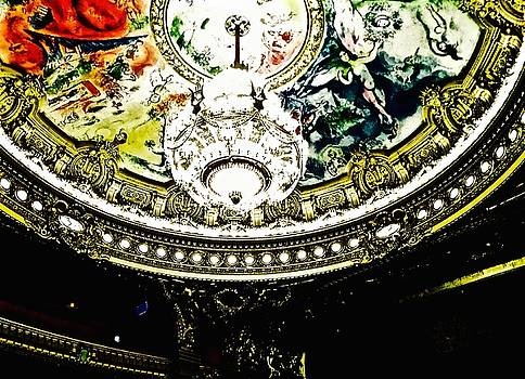 Paris Opera by Night Series, The Grand Ceiling by John Tschirch