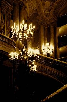 Paris Opera by Night Series by John Tschirch