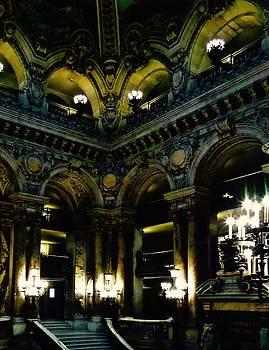 Paris Opera by Night Series, The Grand Stairs by John Tschirch